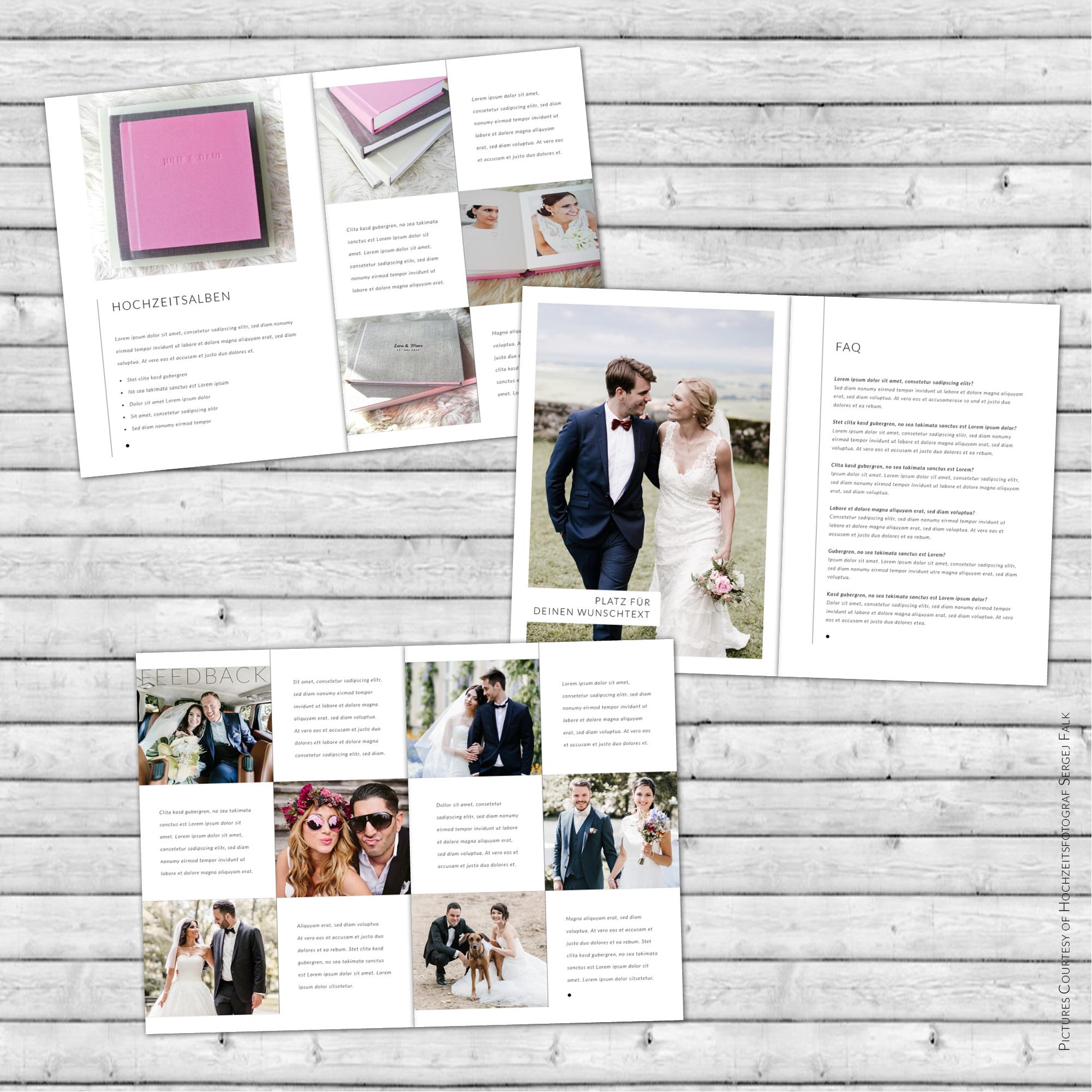 Digitales Magazine Template für InDesign   28 Seiten   M01